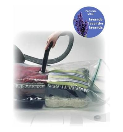 Vakuum vreća za spremanje 80 x 110 cm, lavanda