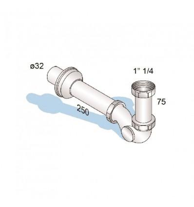Sifon bide MIB-12005 25x250 H