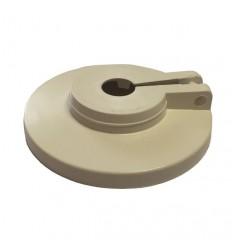 Rozeta PVC-PAK dvodjelna 18mm par MIB-20018