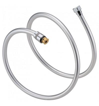 Crijevo tuša 1,5m PVC okruglo srebrno MIB-6003