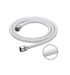 Crijevo tuša PVC savitljivo bijelo MIB-6008