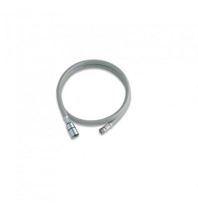 Cijev savitljiva 1,5m nylon siva MIB-CYN1500