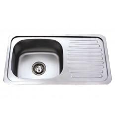 BLITZ sudoper jednostruki inox 700x400 MIB-851