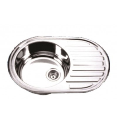 BLITZ sudoper jednostruki inox 770x500 MIB-859