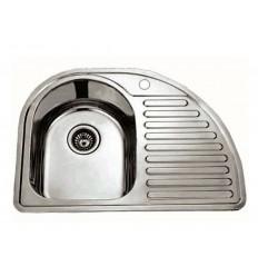 BLITZ sudoper jednostruki inox 730x420 MIB-7351LX