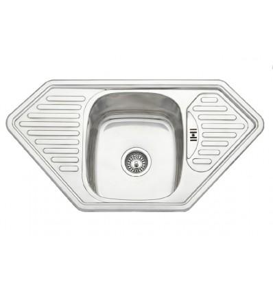 BLITZ sudoper jednostruki inox 950x500 MIB-873