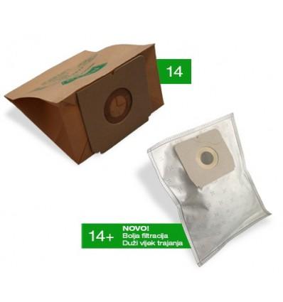 Vrečice za usisavače 4/1 Tip: 14+