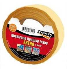 Obostrano ljepljiva traka EXTRA na tekstilu