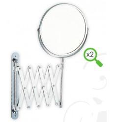 Kozmetčko zrcalo 17x38 cm